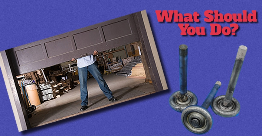 Banner image highlighting tips for garage doors and springs